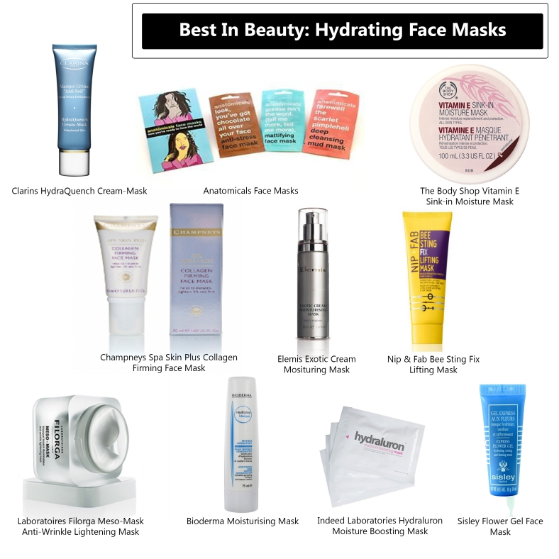 Best In Beauty Hydrating Face Masks Images