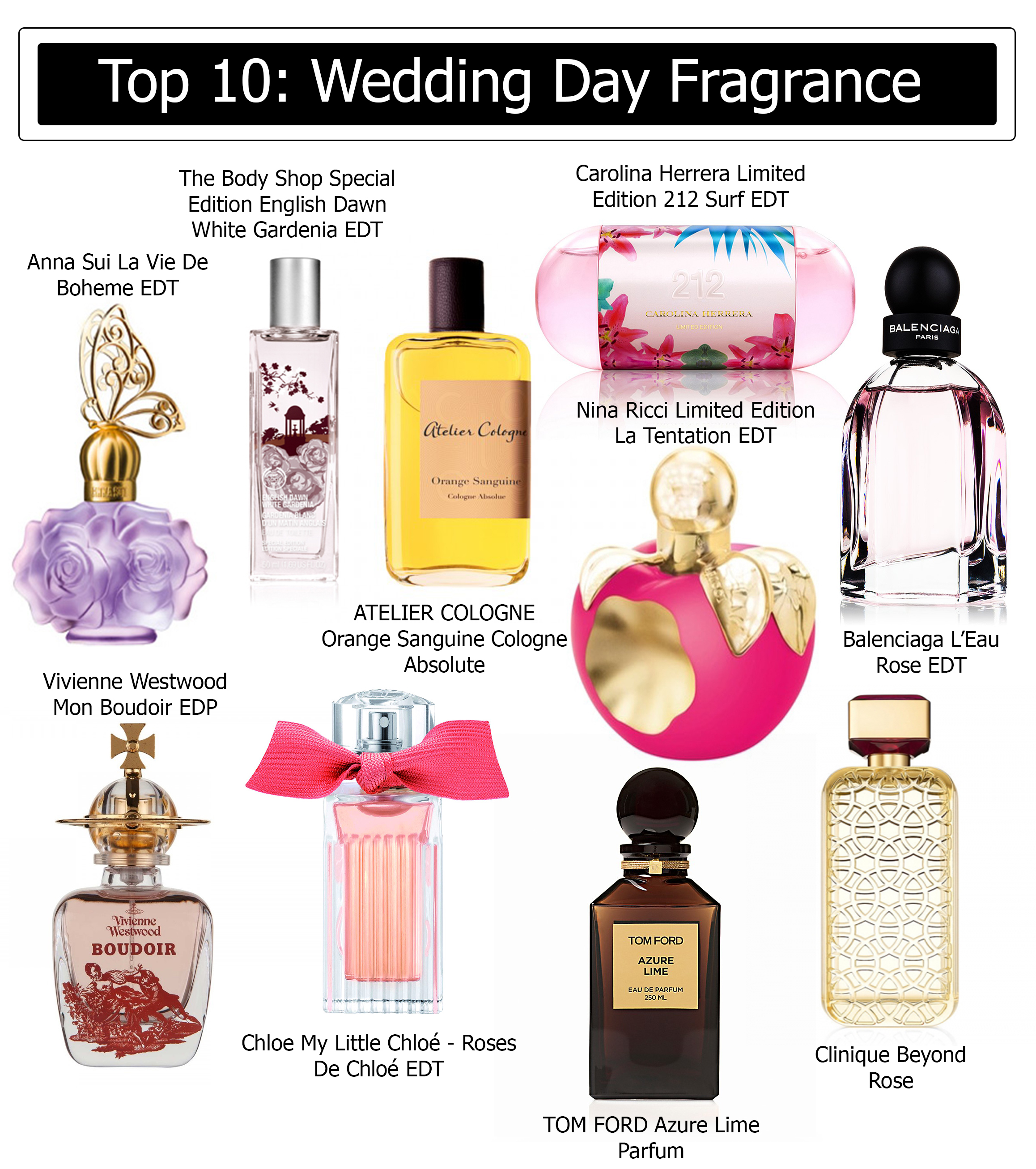 Luxe Blog Day FragranceThe Lifestyleamp; Beauty 10Wedding Top bfy7g6