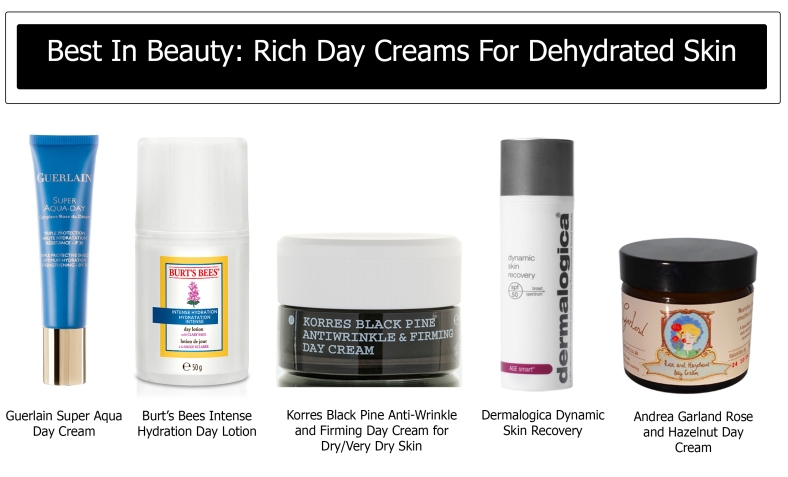 Best In Beauty Rich Day Creams For Dehydrated Skin