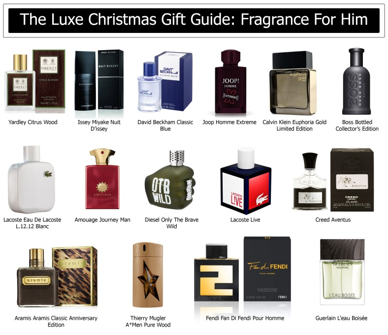 The Luxe Christmas Gift Guide Fragrance For Him